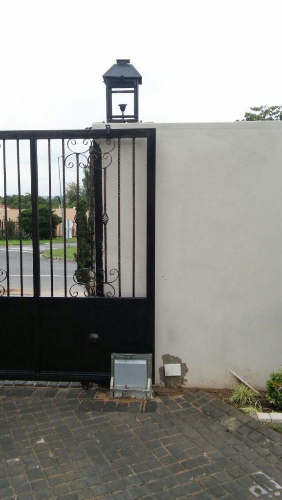 Steel Security Gate Driveway Gate Pedestrian Gate